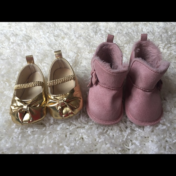 69967480e77 3 - 6 Month Baby Girl Shoe Lot. M 5ae62bab1dffda3afd1ce3b9